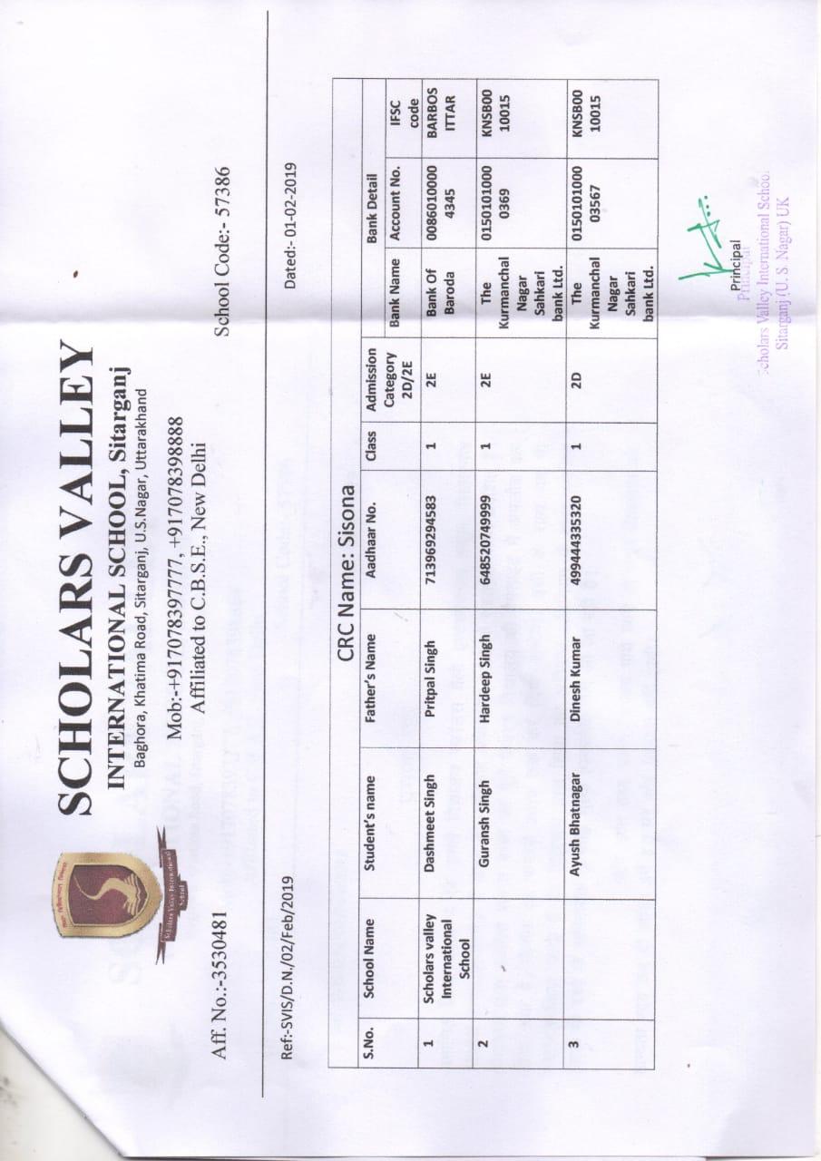 Scholars Valley International