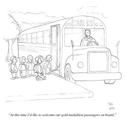 This Week In Education: CARTOONS: If School Buses Were Run