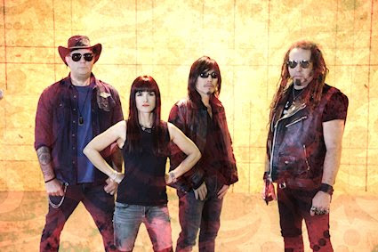 """Madness To Creation Converses with Helena Cos of Spider Rockets on Cancer Can Rock Benefit, Covering Pat Benatar, and """"Along Came A Spider"""""""