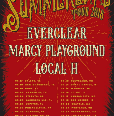 """Summerland Tour featuring Everclear, Marcy Playground, and Local H Proved to Des Moines that """"Everything Is Wonderful Now"""""""