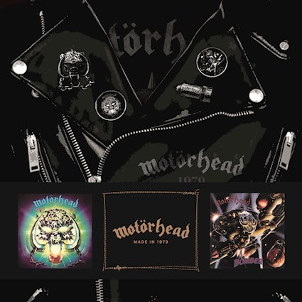 """(Boxed Set Review) """"1979 Boxed Set"""" by MOTORHEAD"""