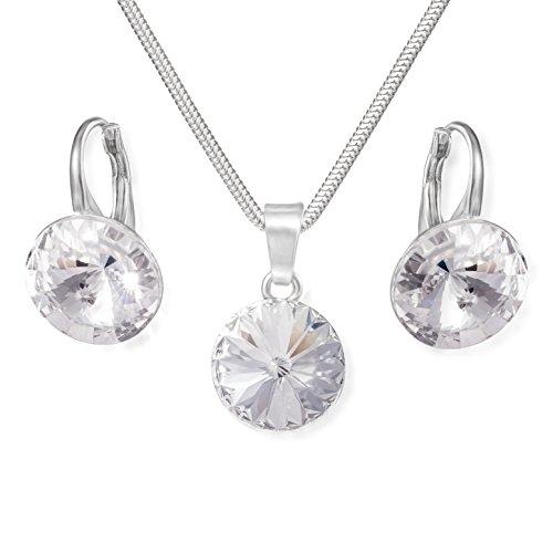 Damen Ohrringe Set mit Kristall aus SWAROVSKI