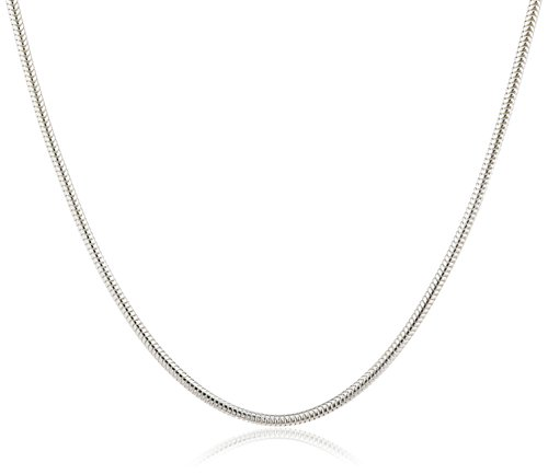 Schlangen Kette – Klassisch 925 Sterling Silber Damen