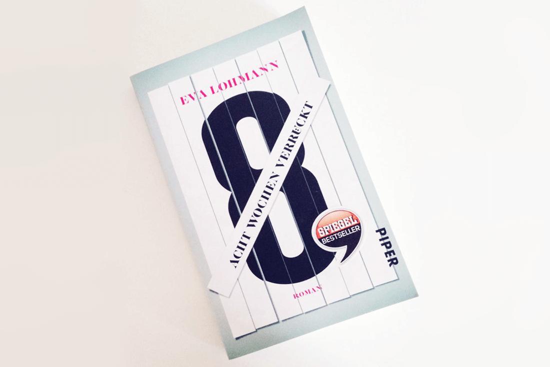 Buch Cover von Eva Lohmann - Acht Wochen verrueckt Rezension