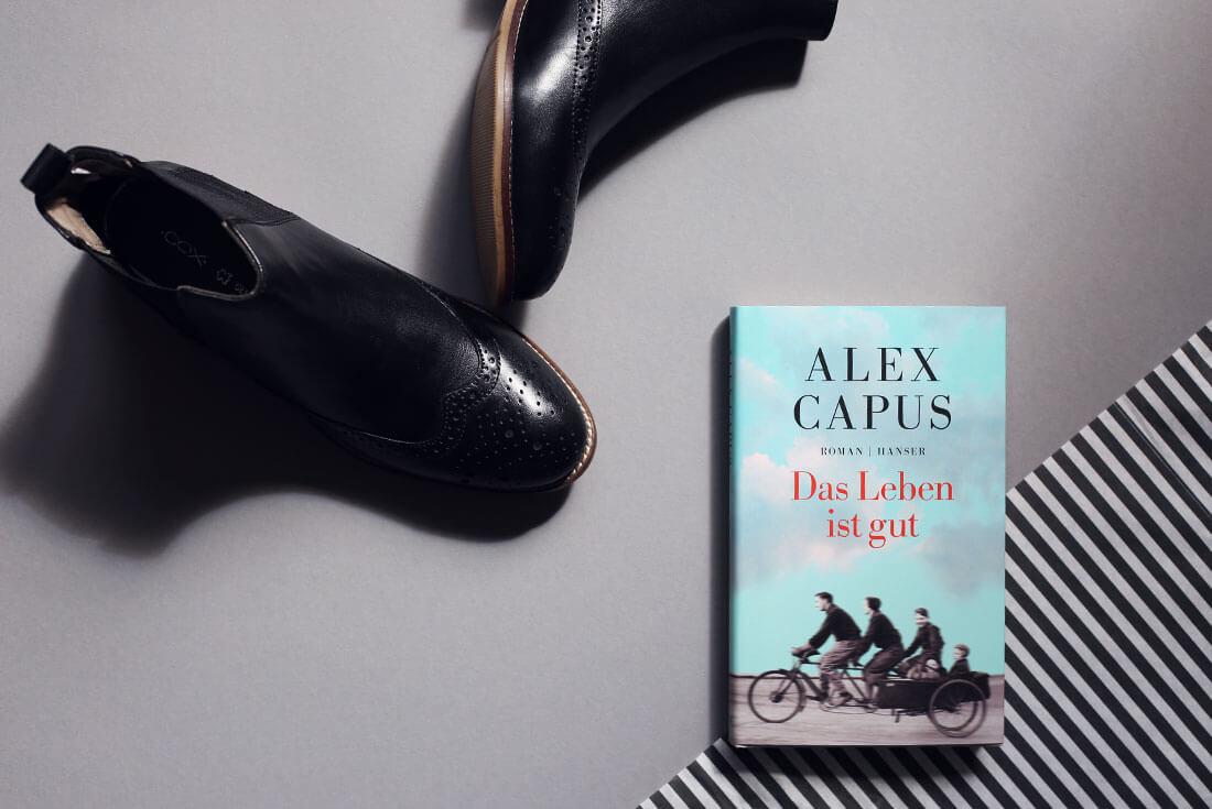 Alex Capus - Das Leben ist gut - schonhalbelf - Buchkritik, Kritik, Rezension