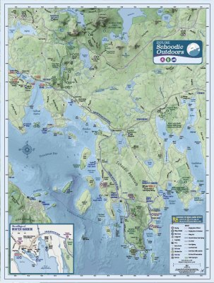 Schoodic Outdoors map