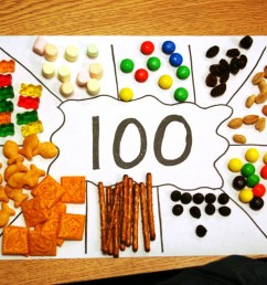 Celebrating the 100th Day of School Without Junk Food [ 1067 x 1600 Pixel ]