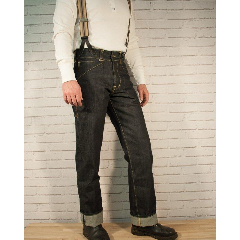 1936 chopper pantalon pike brothers jeans v tements. Black Bedroom Furniture Sets. Home Design Ideas