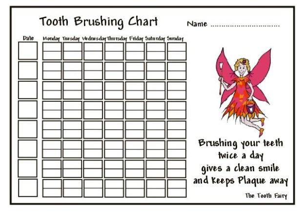 Brushing Teeth Worksheets #5