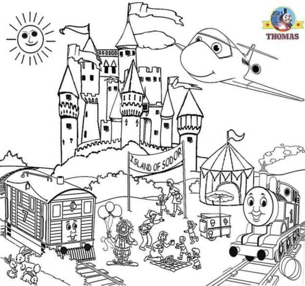 Castle Worksheets For Kids #4