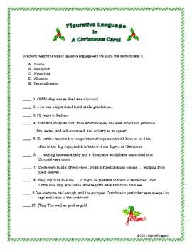 Christmas Language Worksheets #4
