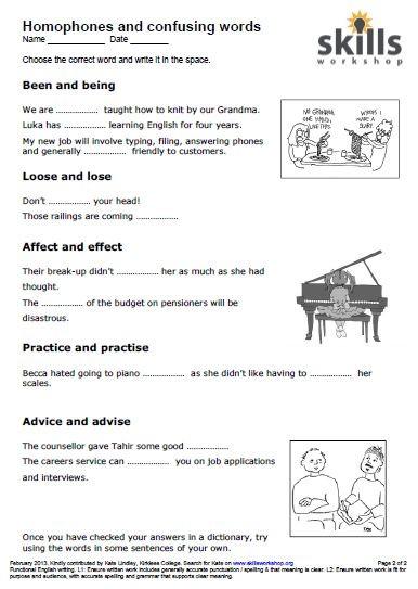 Cloze Practice Worksheets #5