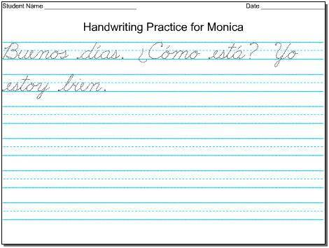Cursive Writing Worksheets For 4th Grade #5