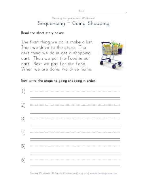 First Grade Reading Comprehension Worksheets Free – Mreichert Kids  Worksheets