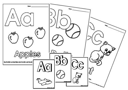 Free Alphabet Worksheets For Kids #5