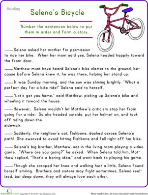 Free Reading Comprehension Worksheets 2nd Grade #3