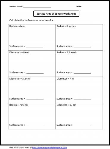 Free Worksheets For 8th Grade #1