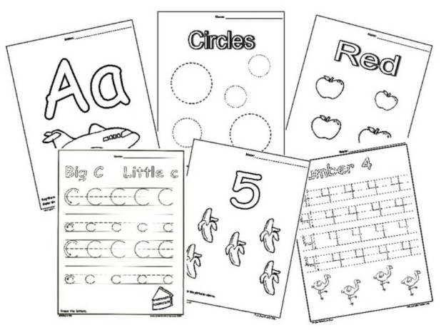 English Alphabet Worksheets For Nursery #4