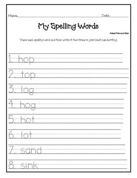 Grade Prep Worksheets #3