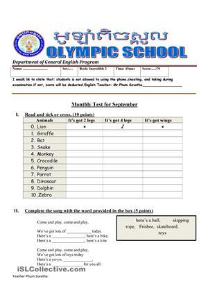 Incredible English 2 Worksheets #5