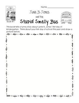 Junie B Jones Worksheets #5