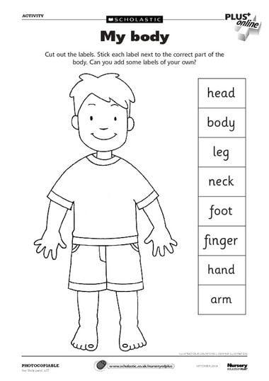 Kindergarten Esl Worksheets #4