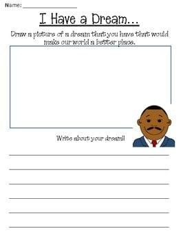 Martin Luther King Jr Day Worksheets #2