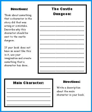 Medieval Castle Worksheets #2