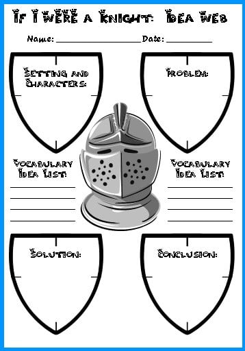 Medieval Castle Worksheets #4