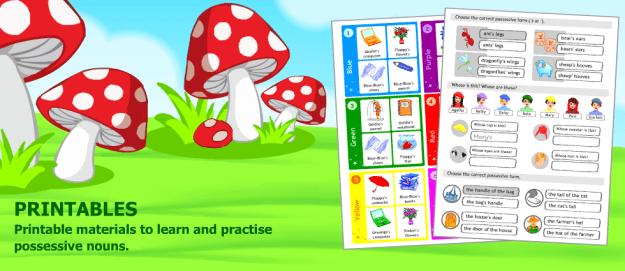 Possessive Worksheets For Kids #2