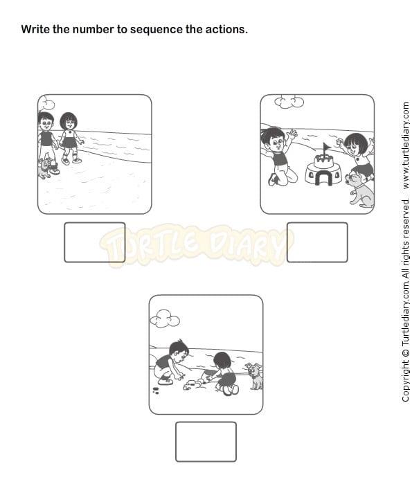 Sequencing Worksheets For Kindergarten #3