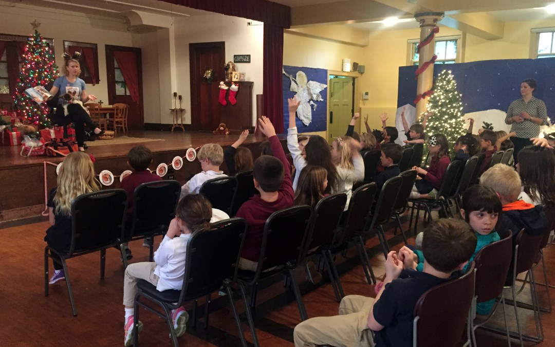 Marya Lucas, Author of Jack Chaps Dog Detective, Speaks to Elementary Students
