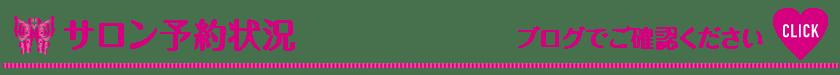 予約状況-ブログでご確認ください_Vivienne Waxing【大阪・南堀江】ブラジリアンワックス 心斎橋 難波 ヴィヴィアン