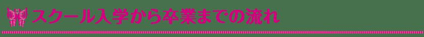 スクール入学から卒業までの流れ_Vivienne Waxing【大阪・南堀江】ブラジリアンワックス・ワックス脱毛・サロン&スクール|ディプロマ・講習|スターピルワックス販売代理店・インストラクター在籍|ヴィヴィアン