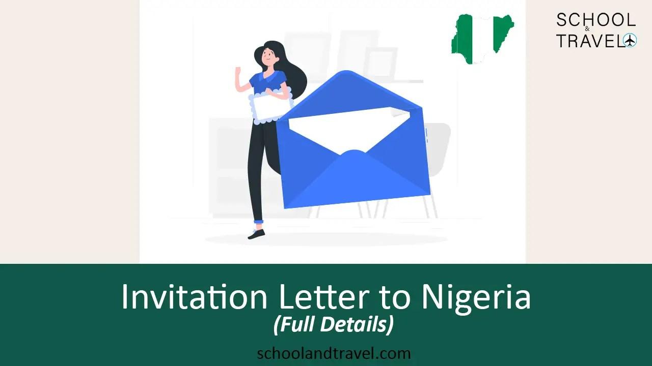 invitation letter to nigeria full