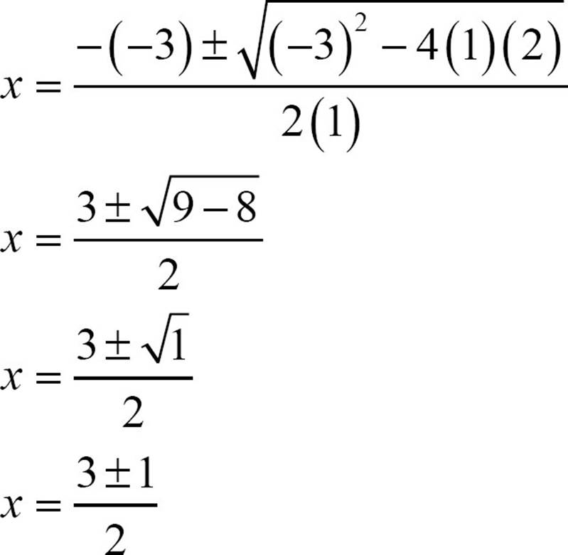Break into two equations.