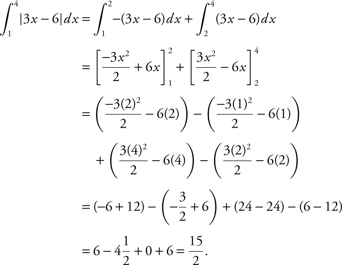 Big Idea 3 Integrals And The Fundamental Theorems Of