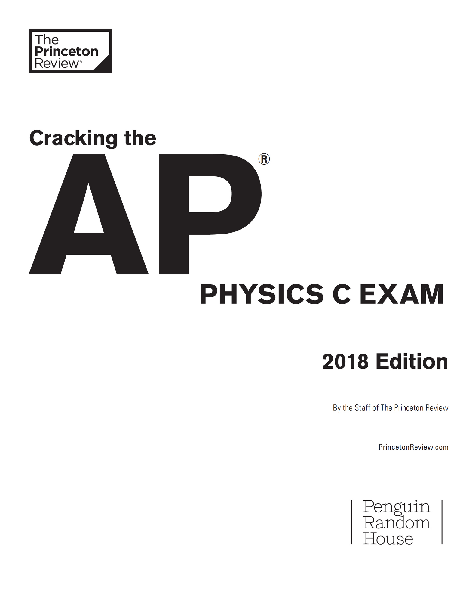Cracking the AP Physics C Exam 2018