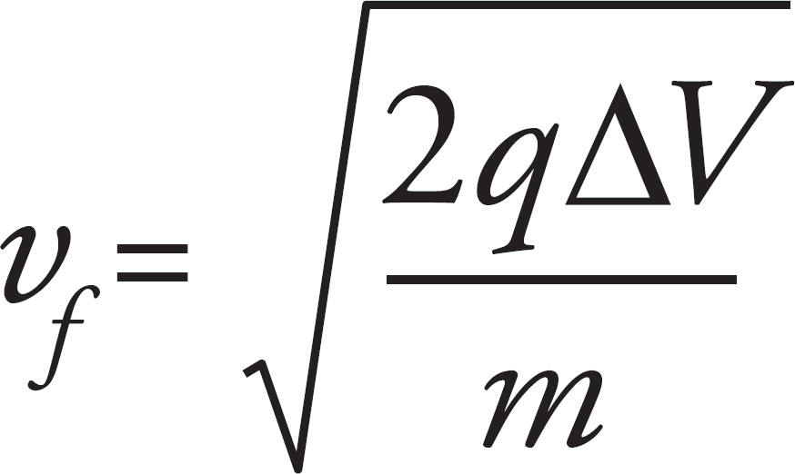 the ratio for the speed of the proton to the