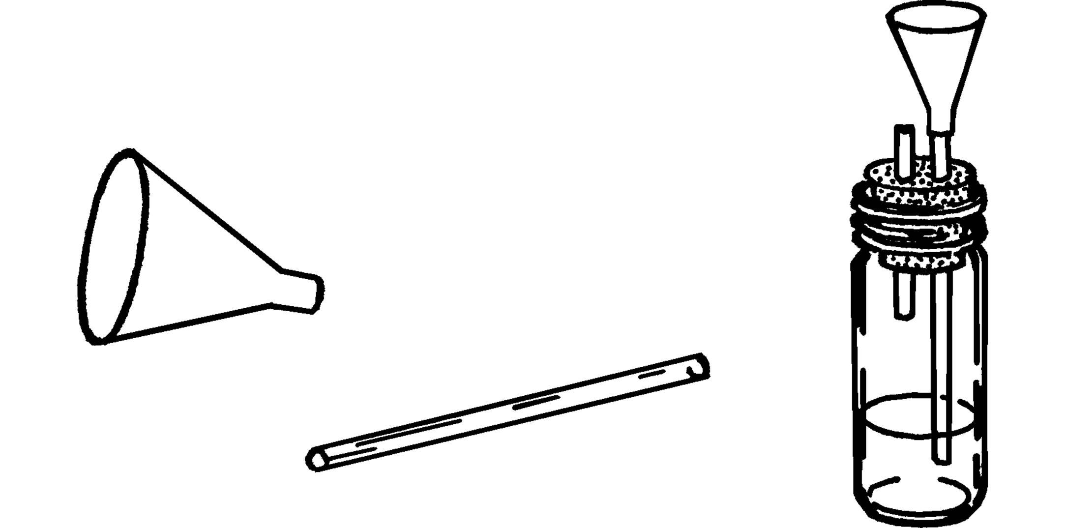 Thistle tube.