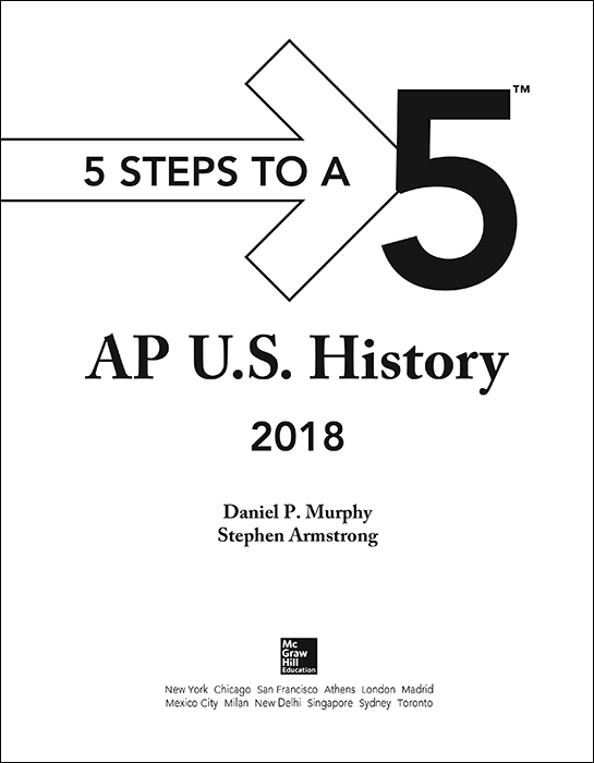 AP U.S. History Exam 2018