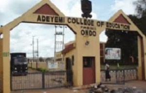 Adeyemi College of Education New Cut Off Mark