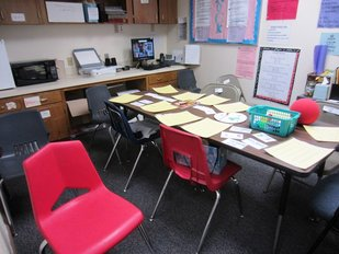 My tiny classroom-in-a-closet