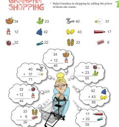 Printable Addition Math Olympiad Worksheets for kids of Grade 1 - Grandma  Shopping [ 3508 x 2480 Pixel ]