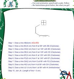 Printable Geometry Math Olympiad Worksheets for kids of Grade 5 - Line  Drawing [ 3150 x 2400 Pixel ]