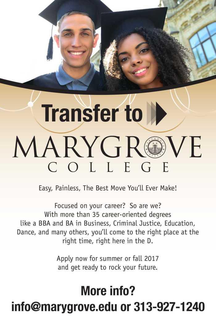 Marygrove Ad