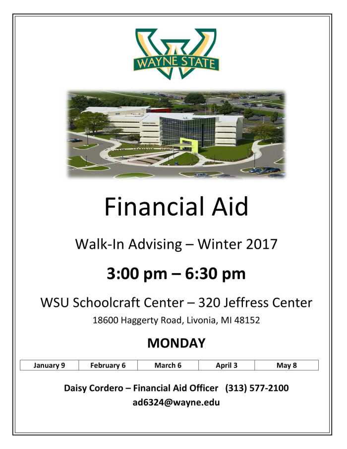 Microsoft Word - Schoolcraft Financial Aid Winter 2017-2.docx