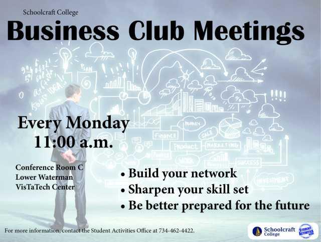 Business Club Meeting