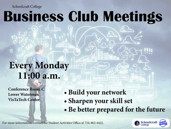 Business Club Meeting