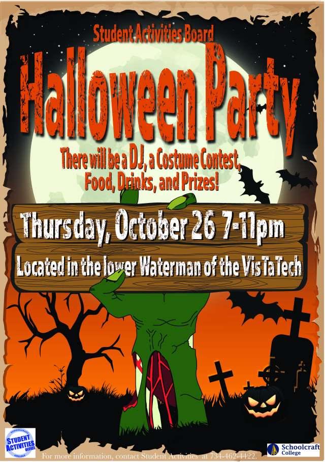Halloween Party CMYK